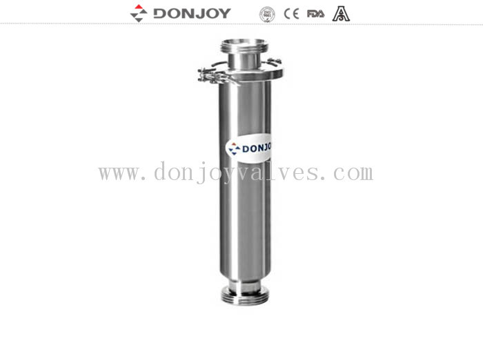 304 / 316 Stainless Steel Straight Filter , 1 Inch - 4 Inch Inline Water Filter