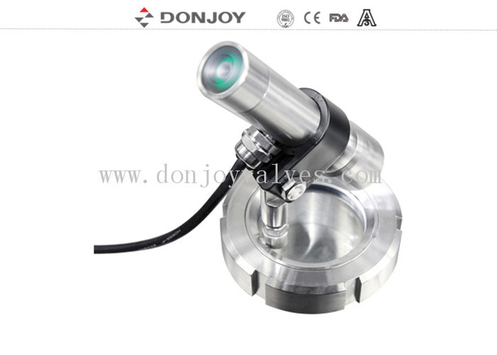 Stainless Steel Sight Glass Multi-Angle light shell union with lamp